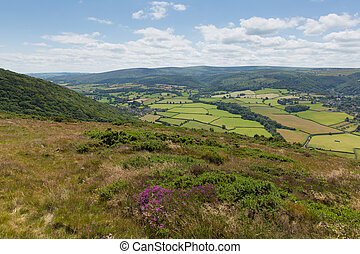 Somerset countryside near Exmoor - Somerset countryside West...
