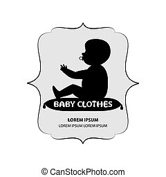 signboard or logo of baby clothes