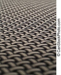 Weave Pattern Showing Repetition Useful as Background
