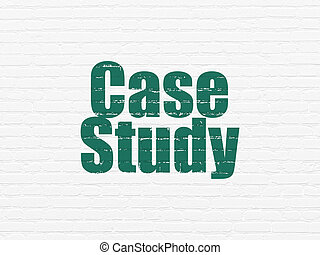 Learning concept: Case Study on wall background