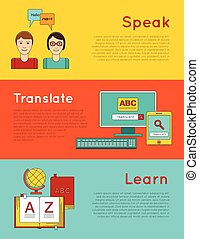 Foreign language education online - Language learning...