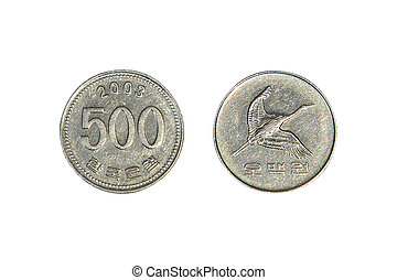 South Korean Won Coins