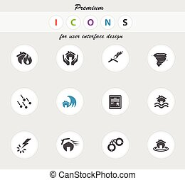 Home Insurance Icons