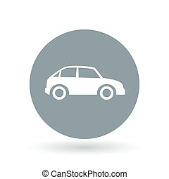 Car icon Motor vehicle sign Automobile symbol Vector...