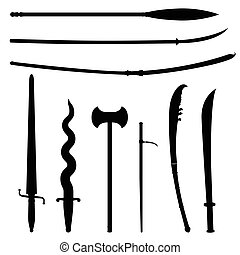 weapons in ancient time