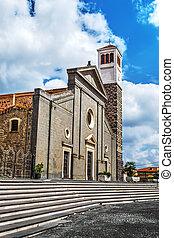 Santa Maria church in Cabras