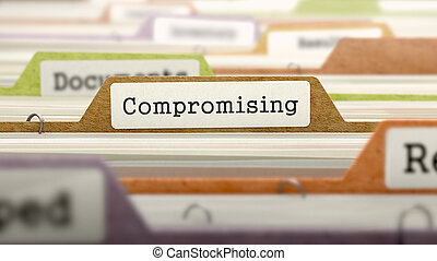 Compromising on Business Folder in Catalog - Compromising on...