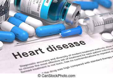 Heart Disease Medical Concept - Heart Disease Medical...