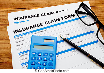 Insurance claim form with calculator - Insurance claim...