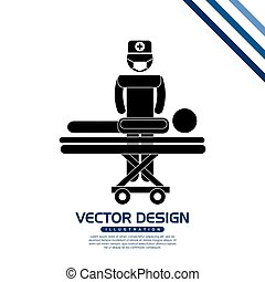 medical care icon design, vector illustration eps10 graphic