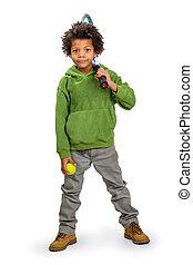 Boy sportsman.