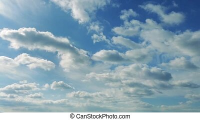 Massive Cloudscape Timelapse - Huge open view of the sky...