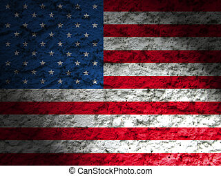 memorial day background american flag grunge style