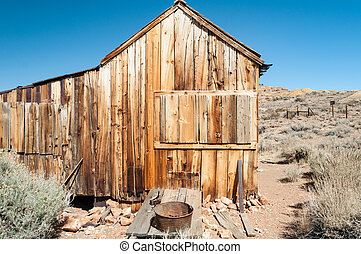 Bodie State Historic Park, ghost town in the Bodie Hills,...