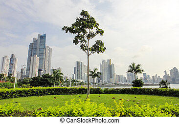 Center of Panama city