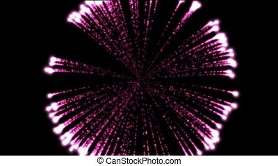 purple firworks,holiday,seamless loop,def