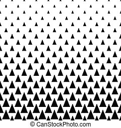 Repeating monochrome vector triangle pattern