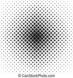 Repeating black white vector square pattern