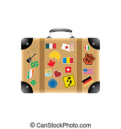Suitcase - Travel suitcase