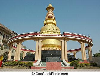 Kadam stupa in Bodhgaya