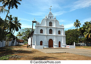 Old church in Cochin,Kerala,India
