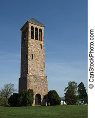 Bell Tower - A landmark bell tower in Luray, Virginia