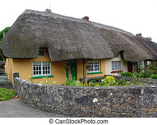 Beautiful Thatched Roof Cottage