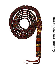 Camel Skin Whip - A handmade whip from India, made of camel...