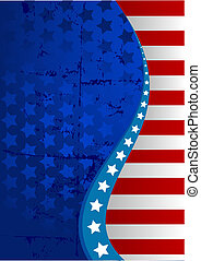 American flag background - An American flag vertical...