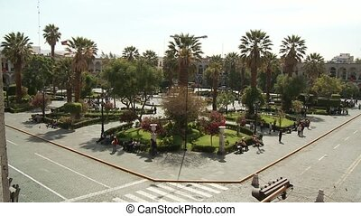 City, Peru Andes Arequipa