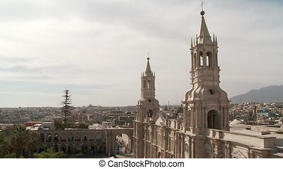 Church Of Arequipa, Peru