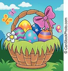 Easter basket theme image 2