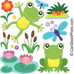 Frog thematic set 1 - Frog thematic set