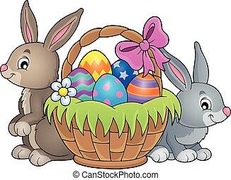 Easter basket theme image 3