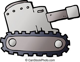 cartooon army tank - cartoon army tank