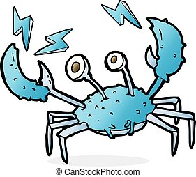 cartoon crab