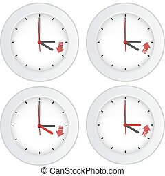 Daylight saving time concept