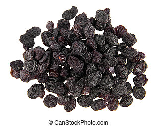 raisin isolated on a white background