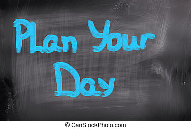 Plan Your Life Concept