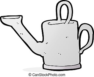watering can cartoon