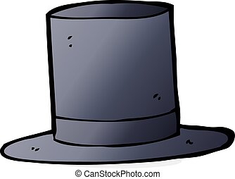 cartoon top hat