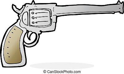 cartoon gun