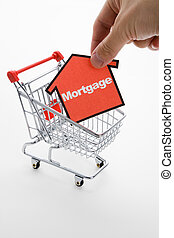 Mortgage shopping, Real Estate concept