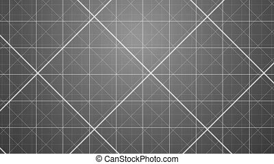 Gray Grids Background.