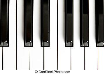 piano, llave