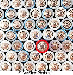 alkaline batteries AAA - alkaline batteries with a focus on...