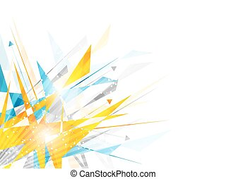 Abstract vector background with irregular polygon pattern...