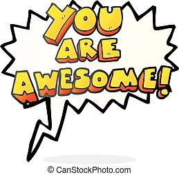 You are awesome Illustrations and Clip Art. 122 You are ...