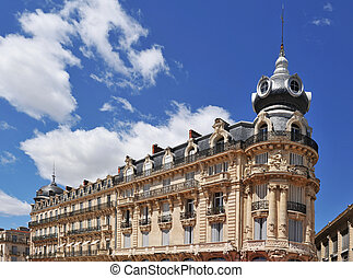 french architecture in Montpellier - french architecture...