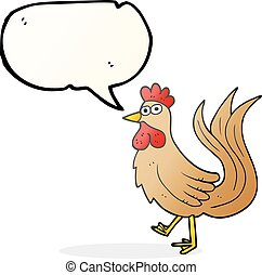 speech bubble cartoon cock - freehand drawn speech bubble...